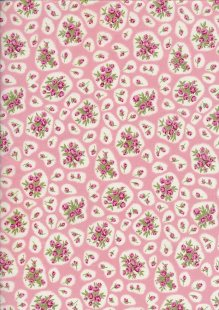 Pima Cotton Lawn - Pink Kathy Rose