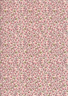 Pima Cotton Lawn - Pink Twiggy