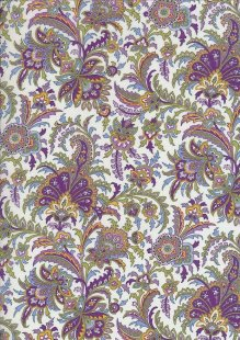 Pima Cotton Lawn - Lime  India Block
