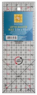 EZ Leftie-Rightie Ruler 3.5 x 9.5 inches