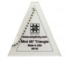 EZ Mini 45 Degree Triangle