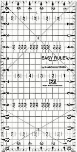 EZ Ruler 6.5 x 13 inches