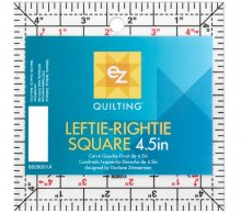 EZ Leftie-Rightie Square 4.5 x 4.5 Inches