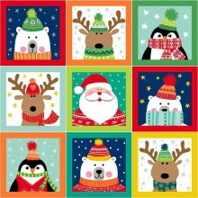 Lucky Dip Panel - 10 x 60cm Christmas Panels