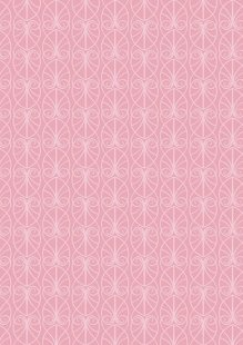 Lewis & Irene - April Showers A71.1 Parisian Fretwork on Pink