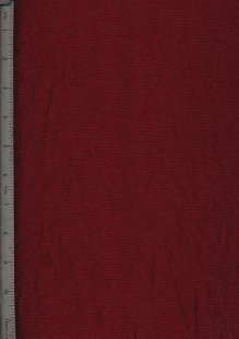 Washed Taffeta - Burgundy