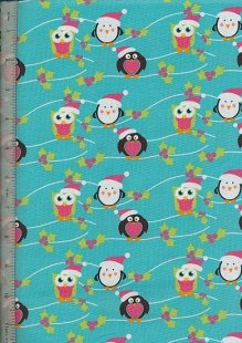 Fabric Freedom Scandi Christmas - FF53-1