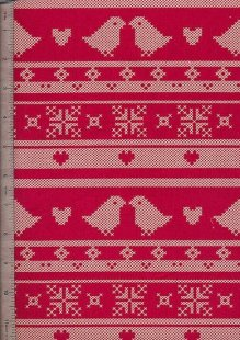 John Louden - Scandi Christmas Red Birds