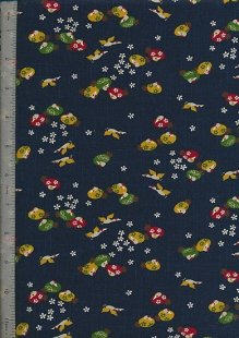 Japanese Print - Cosmo & Seven Berries 7