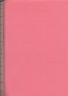 Purse Friendly Print - Plain Salmon Pink - 100% Cotton Fabric