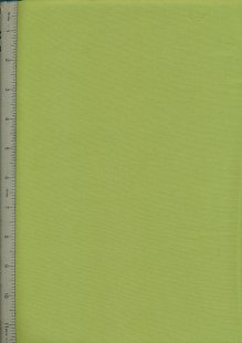 Plain Cotton Fabric - 20 Lime
