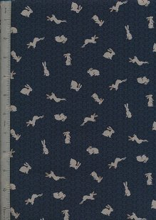 Japanese Print - Cosmo & Seven Berries Black 13
