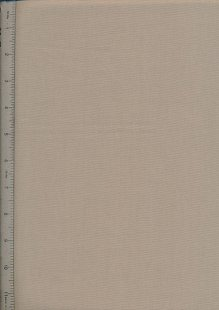Plain Cotton Fabric - 42 Taupe