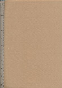 Plain Cotton Fabric - 41 Camel