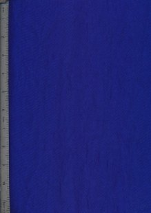 Washed Taffeta - Royal Blue