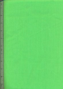 Poly Cotton Plain - Lime Green