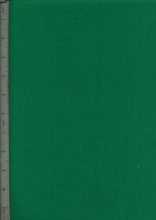 Poly Cotton Plain - Green