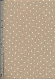 Linen Look Cotton - Small Spots 9124-A