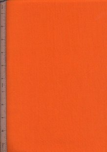 Poly Cotton Plain - Orange