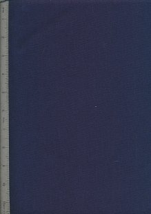 Linen Look Cotton - Navy 8126-14