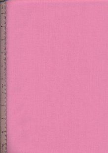 Poly Cotton Plain - Amaranth Pink