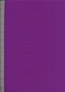 Plain Cotton Fabric - 27 Violet