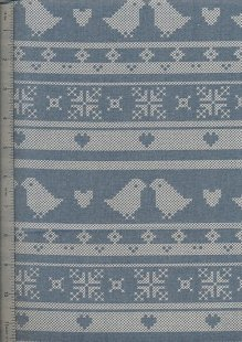 John Louden - Scandi Christmas Blue Birds