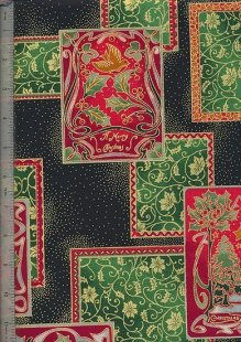 Fabric Freedom - Christmas F876-2