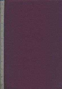 Plain Cotton Fabric - 68 Aubergine