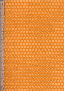 Je Ne Sais Quoi - Pressed Flower Orange