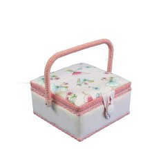 Small Sewing Box - Pink Fairies GB1096