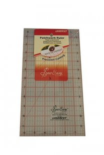 "Sew Easy 12x6.5"" Patchwork Ruler"