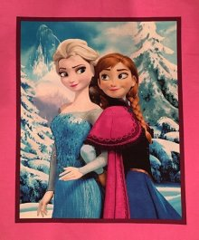 Disney's Frozen Fabric - Elsa & Anna Panel
