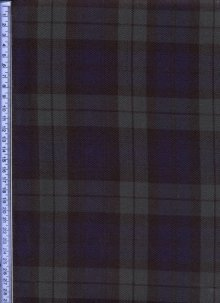 Green & Blue Muted Tartan - Tartans