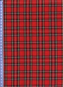 Red & Black Tartan - Tartans