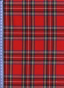 Red, Green & Blue Tartan - Tartans