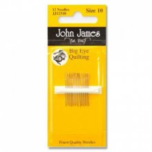 John James Large Eye Quilting No. 10