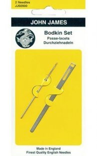 John James Bodkin Set No. 17 with Tape Threader
