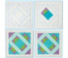 Mosaic Magic - Quilt As You Go Polyester batting series