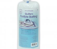 June Tailor Fusible Polyester Batting - Craft Size