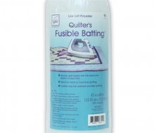 June Tailor Fusible Polyester Batting - Cot Size