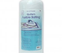 June Tailor Fusible Polyester Batting - Queen Size