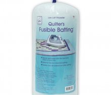 June Tailor Fusible Polyester Batting - Double Size