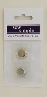 Sew Simple Sew-in Magnet 14mm