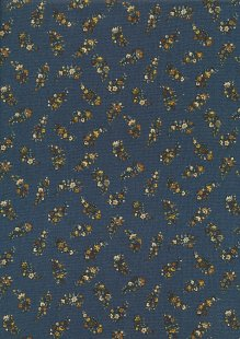 Andover Fabrics By Kathy Hall & Margo Krager - Ditsy Bouquet Blue