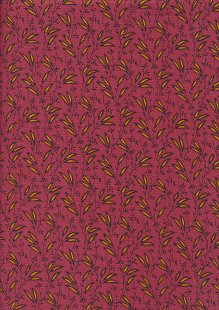 Andover Fabrics By Kathy Hall & Margo Krager - Flowers In The Wind Pink