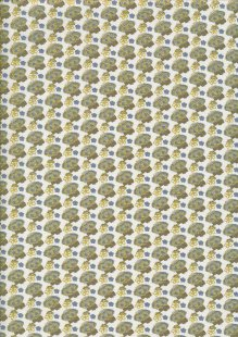 Fabric Freedom Birds and Butterflies - Col 3 FF259 Blue
