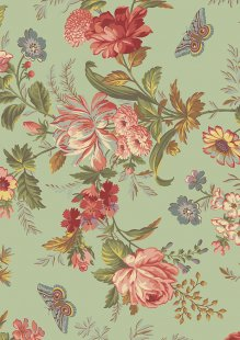 Bed Of Roses By Edyta Sitar For Andover Fabrics -8986 COL T