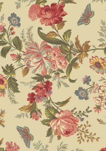 Bed Of Roses By Edyta Sitar For Andover Fabrics -8618 COL T