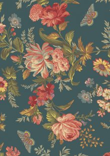 Bed Of Roses By Edyta Sitar For Andover Fabrics -8990 COL T